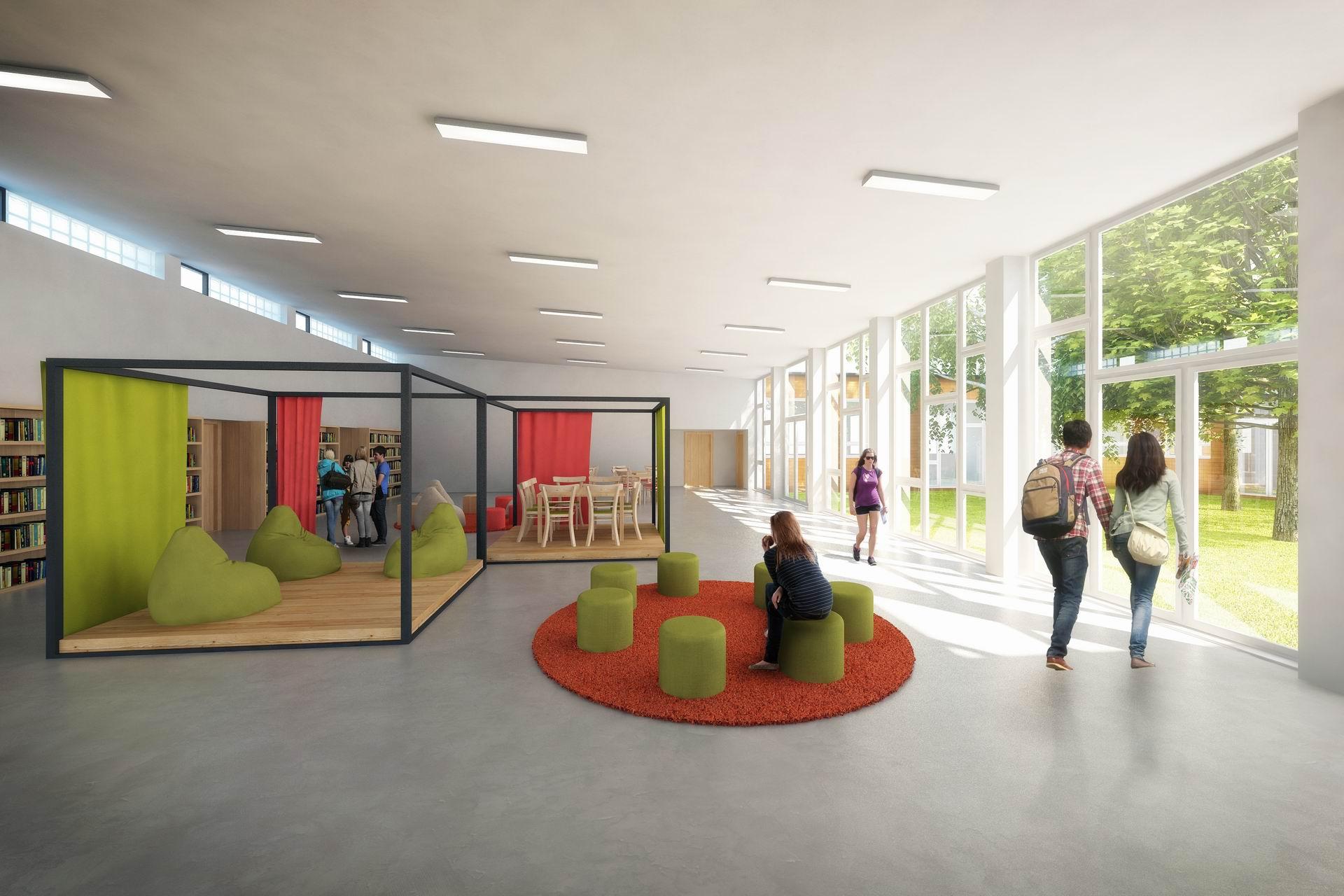 rekonstrukce základní školy montessori kladno